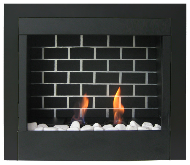 23 Retrofit Gel Fuel Fireplace Insert Modern Indoor Fireplaces By Jr Home Products Ltd