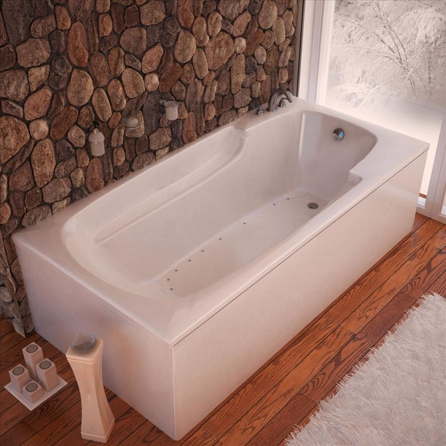 atlantis whirlpools 3260eal air jet bathtub traditional