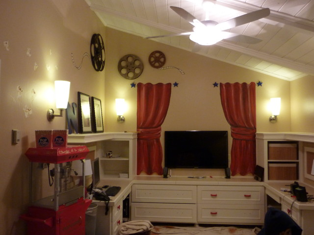 Pam theater playroom eclectic-kids