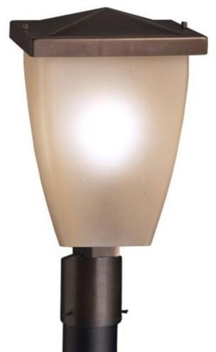 Benton Post Mount contemporary-outdoor-lighting