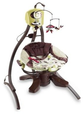 Fisher Price Zen Cradle Swing Contemporary Outdoor Swingsets