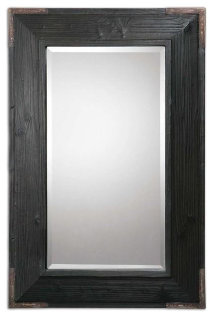 Uttermost Carino Wood Mirror contemporary-mirrors