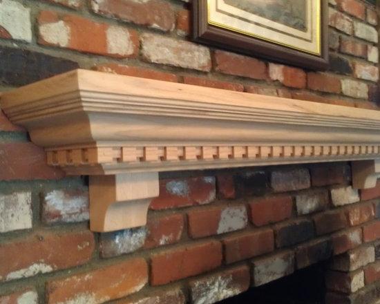 TheMantelGuy.com - Mantel Shelf - Mantel Shelf by TheMantelGuy.com 310 328 3021