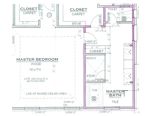 Help Needed Asap Master Bath Layout