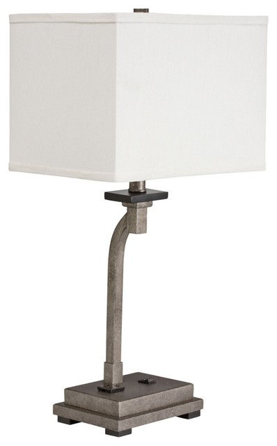 desk lamp with outlet contemporary table lamps by lamps plus. Black Bedroom Furniture Sets. Home Design Ideas