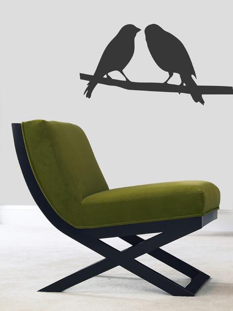 Wall Vinyl Sticker Decals Art Mural Two Little Love Birds