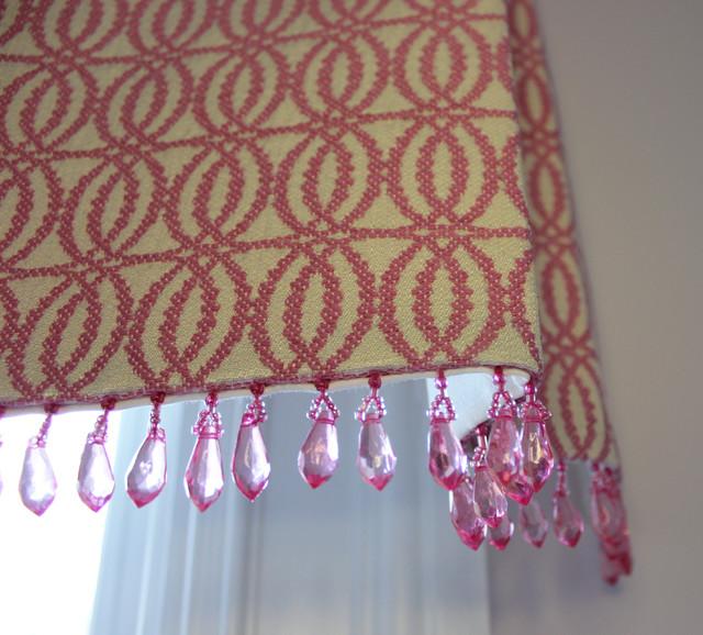 Custom Window Treatments by Lynn Chalk modern-curtains