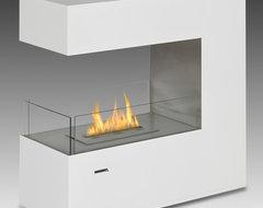 Eco-Feu Paramount Biofuel Fireplace contemporary-indoor-fireplaces