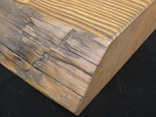 Live Edge Reclaimed Wood Countertops Modern Kitchen