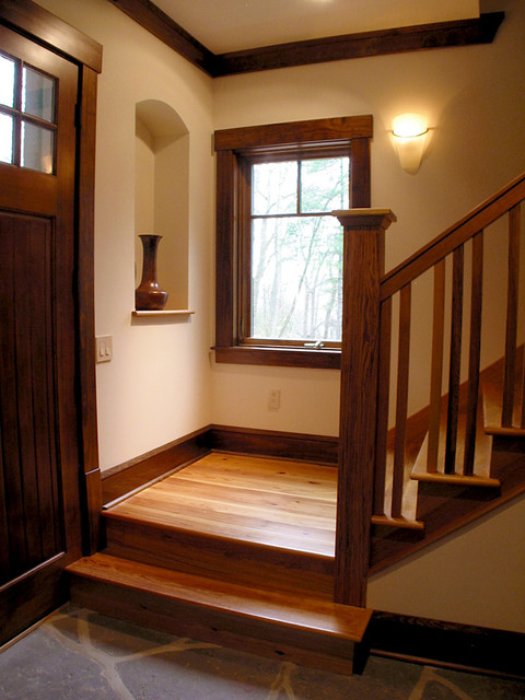 Webb Cove Residence traditional-staircase