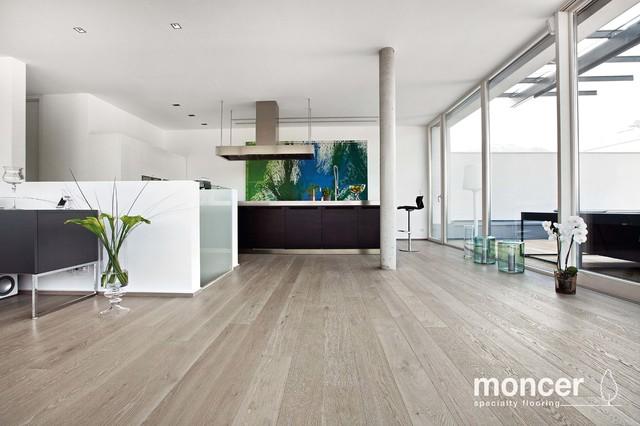 European White Oak  Verona Natural Oil contemporary-hardwood-flooring