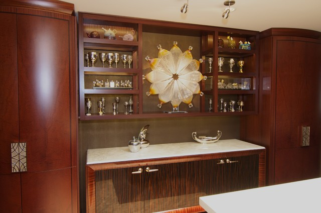 Contemporary North Shore Lakehouse - Traditional - Kitchen - chicago ...