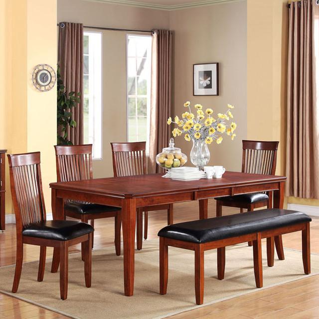 Standard Furniture Dining Room Sets: Standard Furniture Regency 6 Piece Dining Room Set In