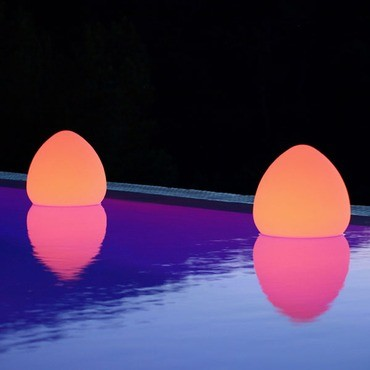 Rock LED Outdoor/Indoor Lamp by Smart & Green contemporary outdoor lighting