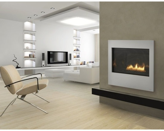 Heat & Glo ST-550T See-Through Gas Fireplace - The SL550 see-through allows you to link two separate spaces while infusing them both with authentic fireside warmth and elegance. Glowing embers highlight stimulating flames and help create a warming focal point between two spaces.