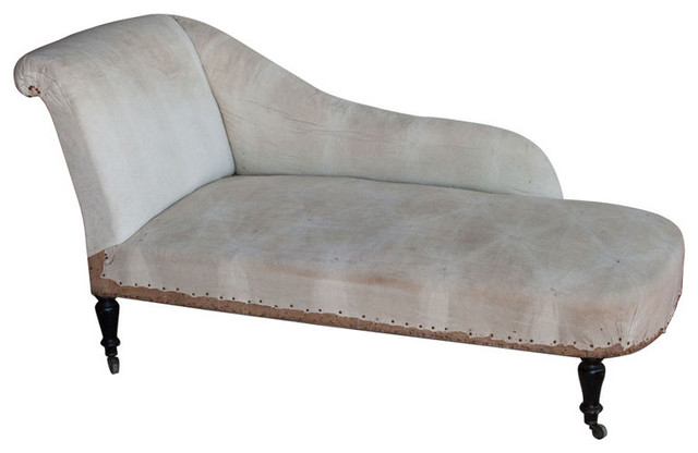Antique french petite chaise indoor chaise lounge chairs for Antique french chaise lounge