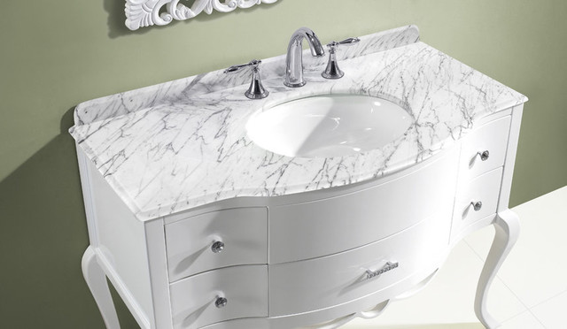 Virtu USA Charlotte 48 Bathroom Vanity modern bathroom vanities and sink consoles
