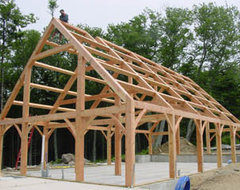 Know your house post and beam construction basics for Post and beam kits maine
