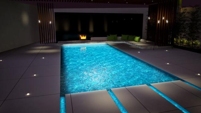 Villa in Riffa Views, Bahrain contemporary-rendering