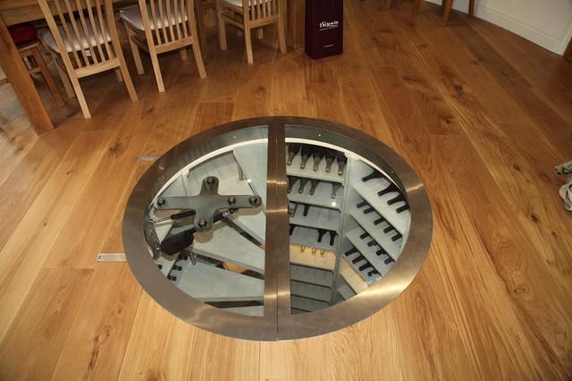 Wine Cellar - The Circular Cellar - Contemporary - other metro - by Stone Cellar Company
