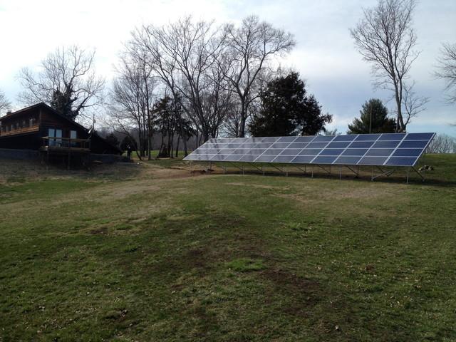 Photovoltaic Installation - Washington contemporary-exterior-elevation