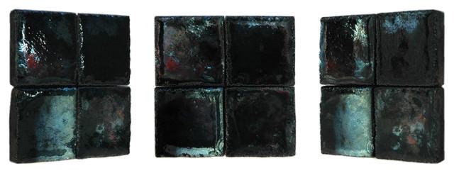 Raku tiles . ref:11S contemporary-tile