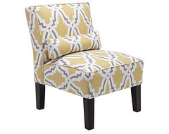 Bailey Accent Chair, Linx contemporary chairs