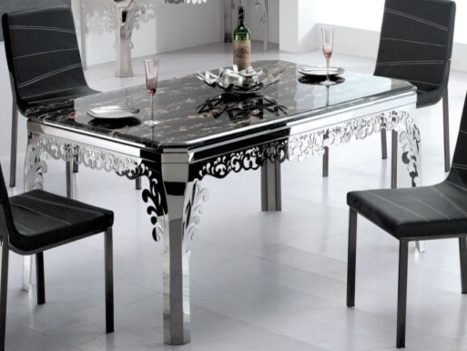 Contemporary Kitchen Sets Furniture Kitchen Category : modern dining tables from stufing.com size 513 x 386 jpeg 46kB