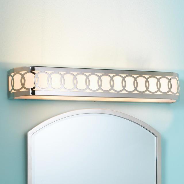 Ringlet Circles Bar Bath Light - Lamp Shades - by Shades of Light