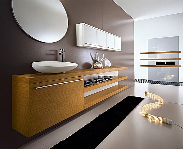 Modern Bathroom Vanity Lighting Ideas : My Fly Evo Collection by Idea Group modern-bathroom-vanities-and-sink-consoles