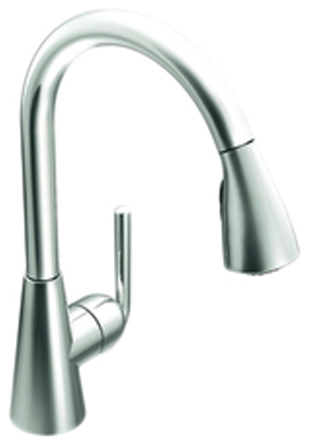 Moen S71708 Ascent High Arc Pull Down Single Handle