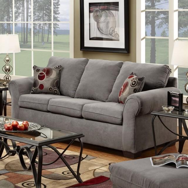 Pillows Traditional Sofa