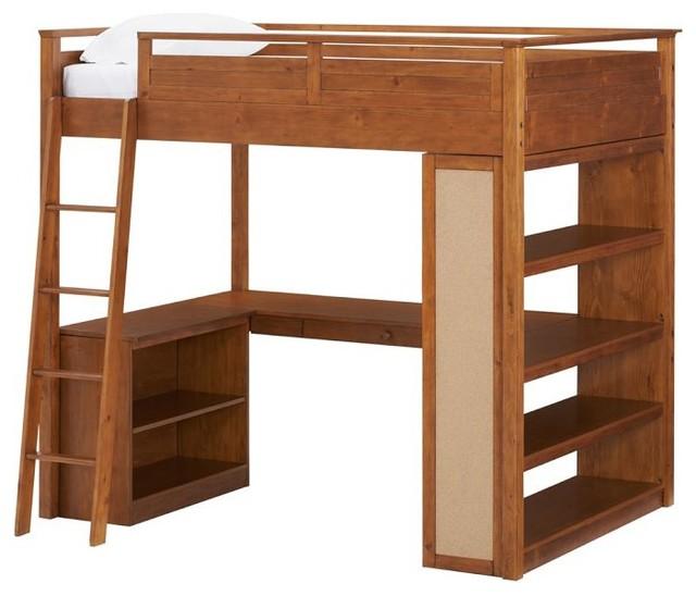 Sleep Study Loft Bed Modern Loft Beds by PBteen