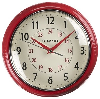 Retro Wall Clock traditional-wall-clocks