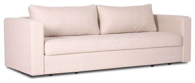 Eperny Beige Futon contemporary-futons