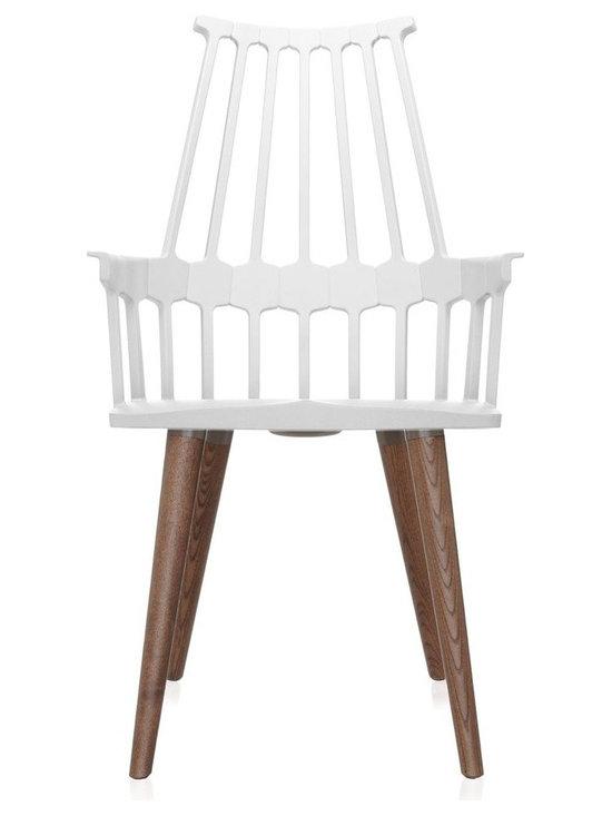 Kartell - Kartell Comback Four Wooden Legs -