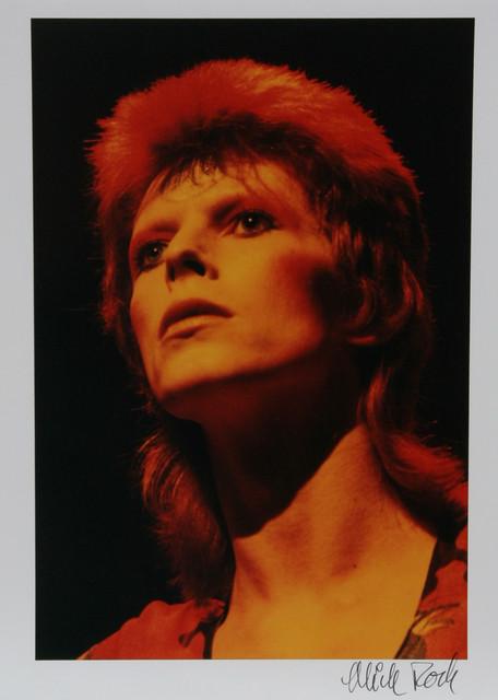 Mick Rock, David Bowie, Color Photograph modern-artwork