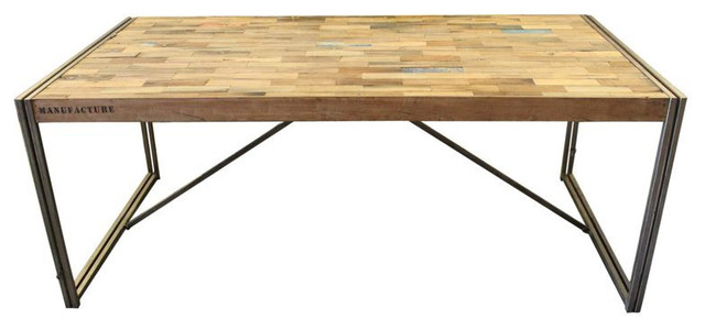 SOLD OUT! Large Salvaged Wood Desk from Bali - $3,000 Est. Retail - $1,200 on Ch