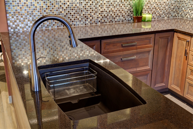 Designers Point Blanco Silgranit Sink Transitional Kitchen Sinks Chicago By Designers Point