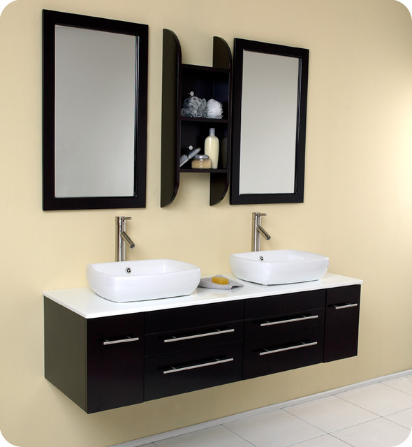 Floating Bathroom Vanities Contemporary Bathroom Vanities And Sink Consol
