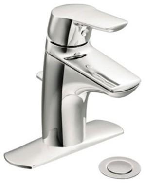 Moen Method 6810 Single Hole Bathroom Sink Faucet modern-bathroom-faucets-and-showerheads
