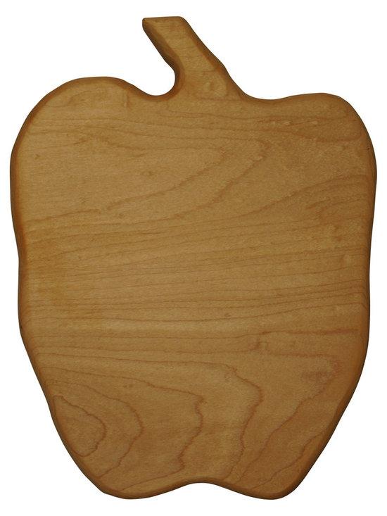 Shark Shade / Martin Carts - Apple Hard Maple Cutting Board - Made with Rock Hard Maple Planks