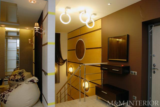 City flat modern-staircase