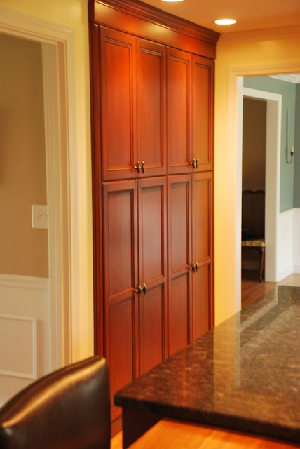 pantry options from heartwood kitchen and bath cabinetry