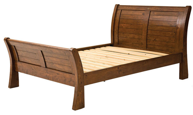 ... California King … Storm Wood Slat California King -size Platform Bed