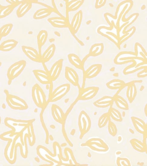 Petite Camp Leaves Wallpaper by Peter Fasano eclectic-wallpaper