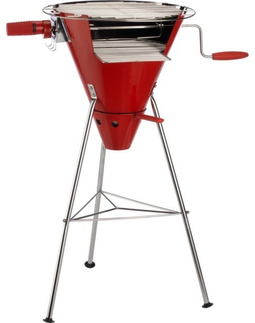 Fyrkat Cone Charcoal Grill contemporary-outdoor-grills