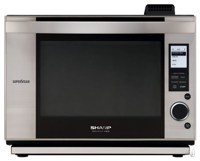 Convection Steam Oven, 700 Watt Microwave - Contemporary - Microwave ...