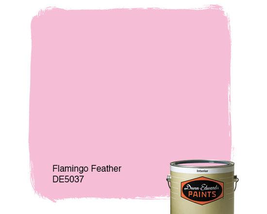 Dunn-Edwards Paints Flamingo Feather DE5037 -