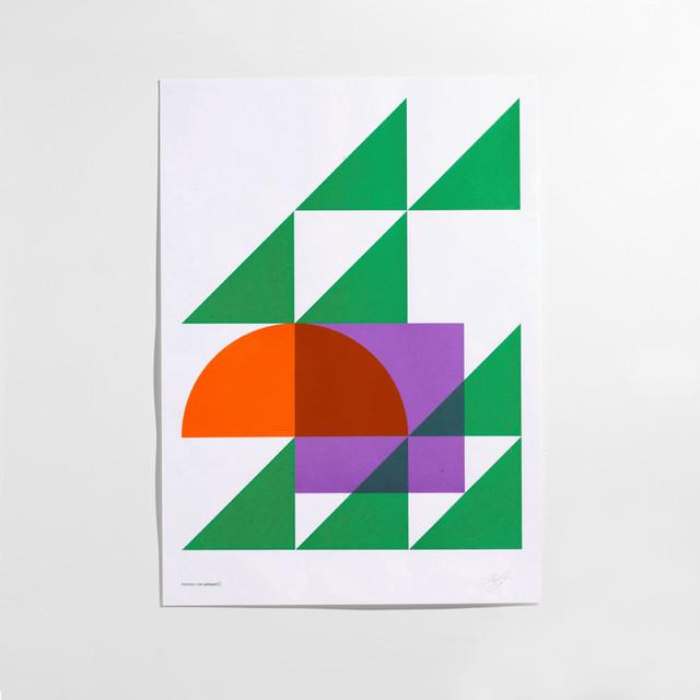 Geometry Secondary Poster contemporary-artwork